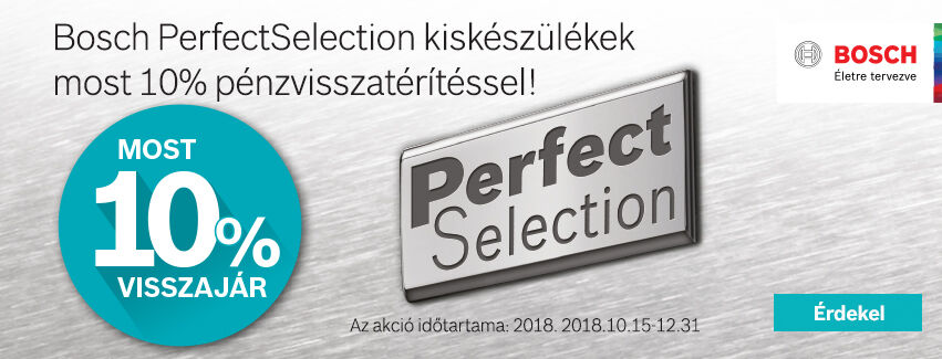 Bosch Perfect Selection