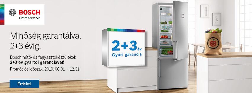 Bosch Hűtő 2+3