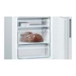 Bosch KGE49AWCA Seria 6 Szabadonálló, alulfagyasztós hűtő-fagyasztó kombináció 201x70 Fehér cm