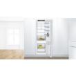 Bosch KIV87VSE0 Serie 4 Beépíthető, alulfagyasztós, hűtő-fagyasztó kombináció, 177.2x54.1cm