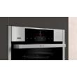 Neff B56VT62H0 beépíthető sütő Vario Steam gőzfunkcióval, Home Connect,Slide & Hide ajtó, 71l,pirolitikus öntisztítás