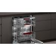 Neff S155ECX09E beépíthető mosogatógép 60cm TimeLight