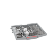 Bosch SMS4ECI14E Serie 6 szabadonálló mosogatógép 45 cm silver-inox