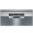 Bosch SMS4HVI33E Serie 4 szabadonálló mosogatógép 60 cm silver-inox