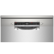 Bosch SMS4HVI45E Serie 4 szabadonálló mosogatógép 60 cm silver-inox