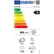 Whirlpool WIS 1150 PEL beépíthető mosogatógép, B energiaosztály, 14 teríték, 9,5 l vízfogyasztás, 11 program, 6. érzék funkció, 3. evőeszközfiók