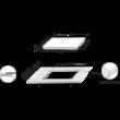 Whirlpool WFS4160BF indukciós főzőlap zónánkénti Premium Slider vezérlés elöl élcsiszolt FLexi Oval zóna 6. Érzék 60cm 7,2kW