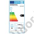 Whirlpool AKZ6220IX beépíthető sütő inox hidrolítikus tisztítás 65L