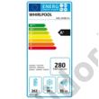Whirlpool ARG18480A+ egyajtós beépíthető hűtőszekrény fagyasztóval A++ 262/30L 177cm