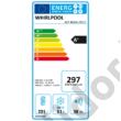 Whirlpool  ART459A+NF1 beépíthető alulfagyasztós hűtőszekrény NoFrost A+ 201+63L 177cm