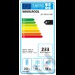 Whirlpool ART890A++NF beépíthető alulfagyasztós hűtőszekrény NoFrost A+ 201+63L 177cm