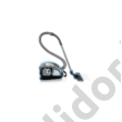 Bosch BGB45332 ProSilence porszívó fekete 650W zajszint 69 db[A] HEPA H14 filter