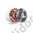 Bosch BGS1UPOWER porzsák nélküli porszívó AAAA HEPA H13 szűrő fekete/fehér 750W