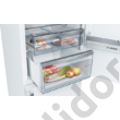 Bosch KGN367WEQ Serie 4 alulfagyasztós hűtő fehér NoFrost  237+87L 186x60x66cm