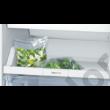 Bosch KGN36NLEA Serie 2 alulfagyasztós hűtő inoxlook NoFrost  215+87L 186x60x66cm