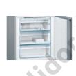 Bosch KGN49LBEA Serie 6 HomeConnect NoFrost fekete üveg alulfagyasztós hűtő 203x70x67 cm