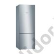 Bosch KGV58VLEAS Serie 4 inoxlook alulfagyasztós hűtő 376/124L 191x70x77 cm