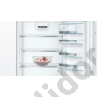Bosch KIN86AFF0 Serie6 hűtő alulfagyasztós beépíthető NoFrost VitaFresh fiók laposzsanér A++ 188+67L 178cm