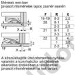 Bosch KIN86VFF0 Serie4 hűtő alulfagyasztós beépíthető NoFrost laposzsanér 187+67L 178cm