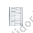 Bosch KSV33VLEP Serie 4 egyajtós hűtő inoxlook A++ 324L 176x60x65cm