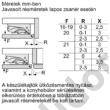 Bosch KUL15ADF0 Serie6 aláépíthető hűtő A++ 108+15L 82 cm magas