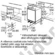 Bosch KUR15ADF0 Serie 6 hűtő pult alá építhető A++ 137L 82x60x55cm