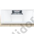 Bosch SMD6ECX57E Serie 6 teljesen beépíthető mosogatógép Home Connect OpenAssist ajtónyitás-segéd funkcióval EfficientDry szárítás A++ 60cm TimeLight