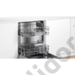 Bosch SMI4HTS31E Serie4 Home Connect beépíthető mosogatógép nemesacél hőcserélős kondenzációs szárítás A++ 60 cm 12 terítékes