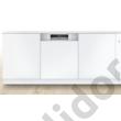 Bosch SMI8YCS01E Serie8 Home Connect beépíthető mosogatógép nemesacél PerfectDry Zeolith+EfficientDry VarioDrawer Pro A+++ 60 cm 14 terítékes