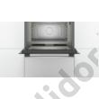 Bosch COA565GS0 Serie6 beépíthető mikrohullámú sütő gőz funkcióval 45cm nemesacél 36L
