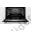 Bosch CSG656RB7 Serie8 beépíthető kompakt gőzsütő fekete 45cm Home Connect TFT kijelző