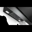 Bosch DWK97HM60 Serie 4 döntött fali páraelszívó 90 cm fekete üvegernyő 680 m3/h LED