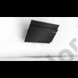 Bosch DWK98JQ60 Serie 6 döntött fali páraelszívó 90 cm fekete üvegernyő 840 m3/h LED PerfectAir szenzor