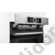 Bosch HNG6764S1 Serie 8 beépíthető sütő mikrohullámmal és AddedSteam hozzáadott gőzzel pirolítikus öntisztítással