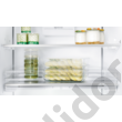 Neff K8345X0 beépíthető alulfagyasztós hűtő NoFrost Fresh Safe 3  A++ 184+61L 177cm