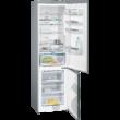 Siemens KG39NLB35 iQ500 A++ NoFrost 279+87L fekete üveg alulfagyasztós hűtő 201x60x65cm