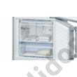 Bosch KGF56PI40 Serie 8 Home Connect ready NoFrost VitaFresh pro 0°C nemesacél alulfagyasztós hűtő A+++ 375/105L 197x70x80 cm