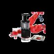 Bosch MESM731M SlowJuicer fekete/nemesacél 150W 1L tartály 3 szűrő