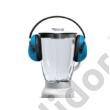 Bosch MMB66G5M turmixgép fehér/szálcsiszolt 800W 2,3L üvegtartály