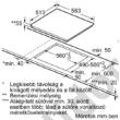 Neff T56BT60N0 teljes Flex Induction indukciós főzőlap 60 cm nemesacél keret TwistPad