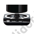 Bosch TWK8613P Styline vízforraló fekete/nemesacél 1,5L 2400W