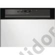 Whirlpool WBC3B19B beépíthető mosogatógép fekete A+ 60cm