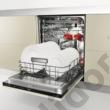 Whirlpool WSIC 3M27 C teljesen beépíthető mosogatógép 45cm A++ 10 teríték  3. evőeszköztartó tálca