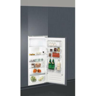 Whirlpool ARG 86121 beépíthető hűtőszekrény,  122,5x56x55 cm,171+18 liter, F energiaosztály, automatikus hűtőtérleolvasztás