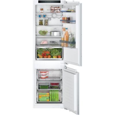 Bosch KIN86SFE0 Serie4 beépíthető alulfagyasztós hűtő,NoFrost,184+76 l,LED világítás ,VitaFresh