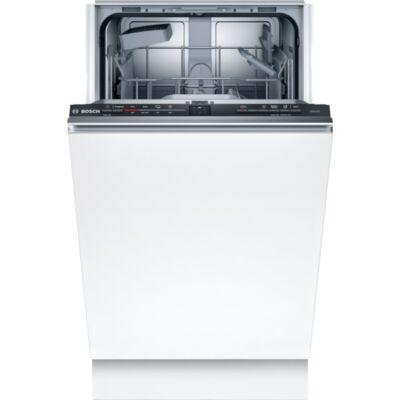 Bosch SRV2IKX10E Serie2 teljesen integrálható mosogatógép,InfoLight,magasságban állítható felső kosár