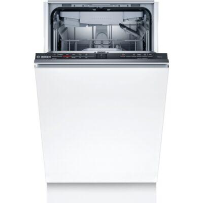 Bosch SRV2XMX01E Serie2 teljesen integrált mosogatógép,45 cm,10teríték,Extra szárítás,VarioDrawer,InfoLigh
