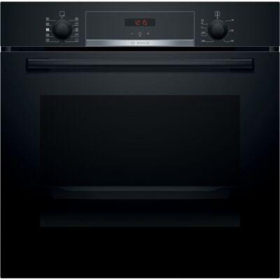 Bosch HRA534EB0 fekete beépíthető sütő hozzáadott gőzzel,süllyeszthető gombok, 71 liter,