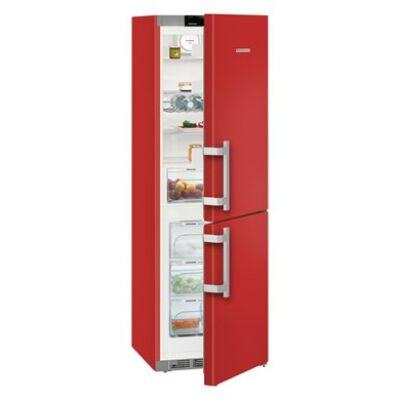 Liebherr CNfr 4335 Comfort Kombinált hűtő-fagyasztó készülék NoFrost funkcióval, 321 l,D energiaosztály, 185X60X67, Piros