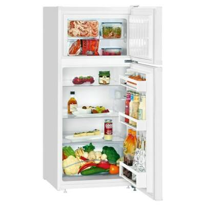 Liebherr CTP211  kombinált hűtőszekrény felső fagyasztóval és SmartFrost funkcióval